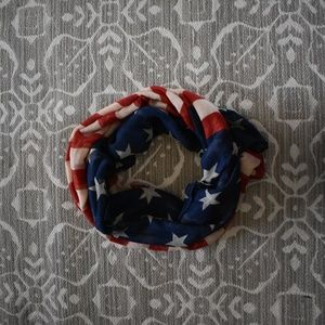 Accessories - American Flag Scarf